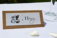 Image of Purr-fect Vintage Place card.