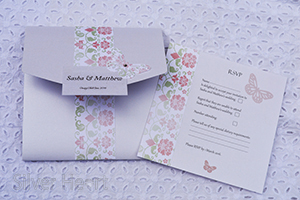 Example of a Pocketfold RSVP insert.