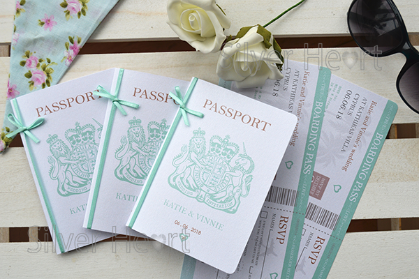 Passport invitation bundle