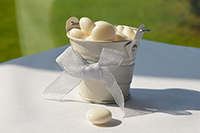 Image of Ivory Pail favour