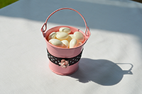 Image of Pink Pail favour.